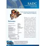 SGDM Factsheet Botswana