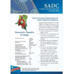 SGDM Factsheet Democratic Republic of Congo