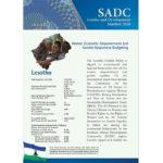 SGDM Factsheet Lesotho