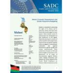 SGDM Factsheet Malawi