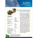 SGDM Factsheet Zambia